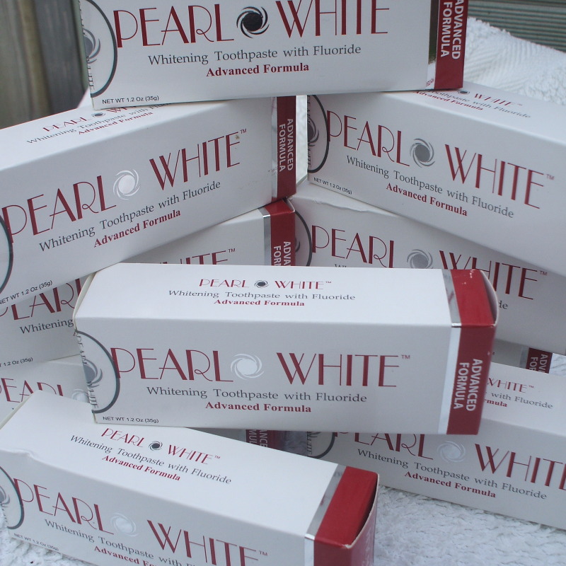 Single large Advanced pearl white paste T1